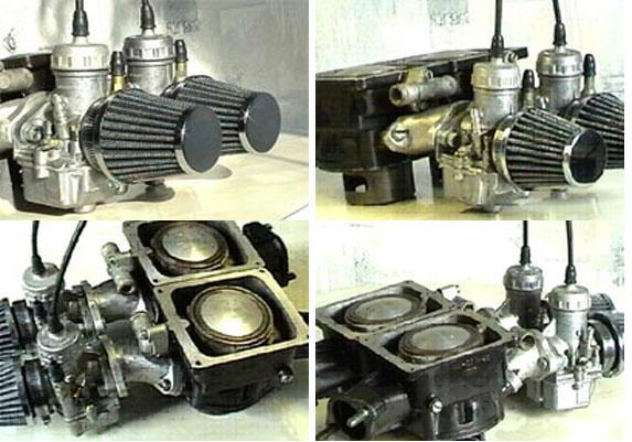 Увеличить мощность серийного двигателя ИЖ-Юпитер 5 с 25 л.с. при 5500 об.=мин. до 36 л.с. при 6500 об.=мин...